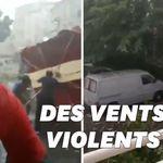 De violents orages ont éclaté en France mardi soir, des dégâts