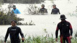 실종자 수색 중인 의암댐에서 레저보트 타는 관광객들이