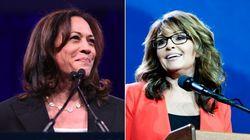 """""""Ne vous laissez pas museler"""": Sarah Palin donne quelques conseils à Kamala"""