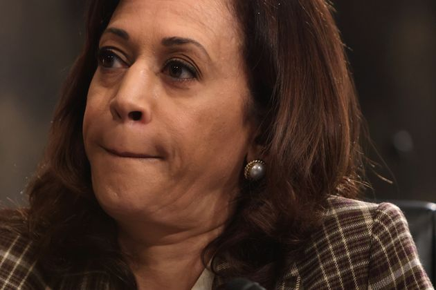 US Senator Kamala Harris in a file