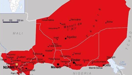 Après l'attentat au Niger, Paris déconseille tout le pays sauf