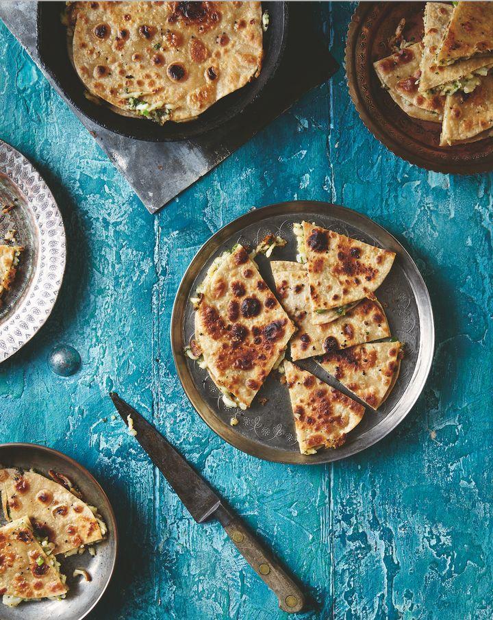 Cheese and Potato Chapatti