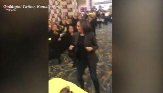 PRIMA DI ESSERE VICE BIDEN - Il ballo liberatorio di Kamala Harris, quando sospese la campagna