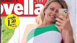 """""""La sirena tricolore"""": Giorgia Meloni sulla copertina di Novella"""