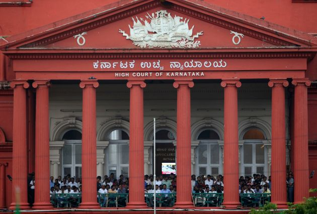 Facade of the Karnataka High Court as seen in a file