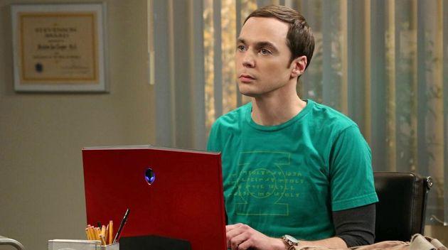 Jim Parsons como Sheldon Cooper en 'The Big Bang