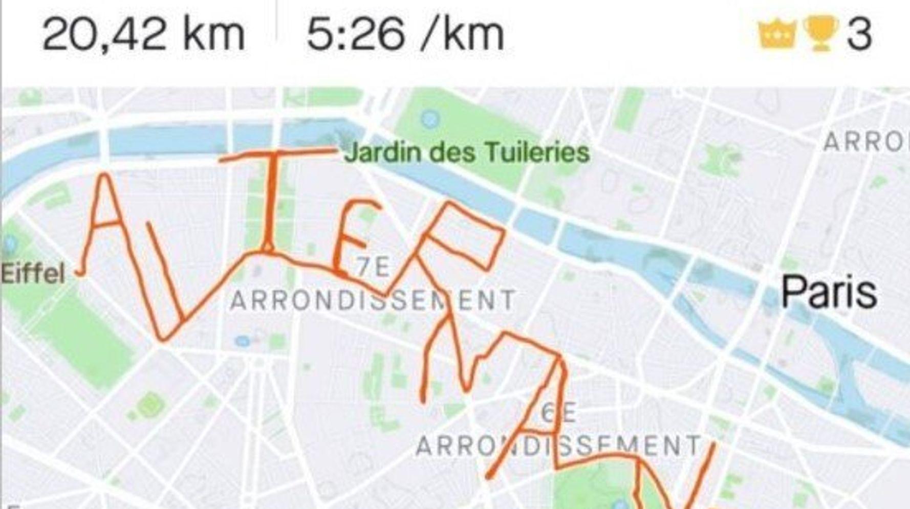 Pour trouver une alternance, elle court 20km dans les rues de Paris