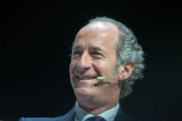 Luca Zaia attends the Venetian stage of the 'Giro d'Italia', will be present at the Gran Teatro Geox...