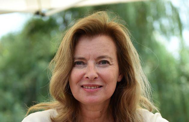 Valérie Trierweiler, ici à Chanceaux-près-Loches (Indre-et-Loire), en août