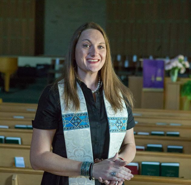 The writer at Lorne Park Baptist Church in Mississauga, where she worked for six years as lead pastor...