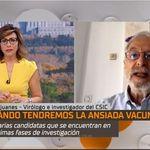 El mayor experto español en coronavirus responde claramente a si se pondría o no la vacuna