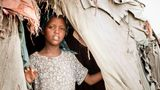 Young Somali Girl in a Nomadic Hut