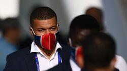 Mbappé remplaçant au coup d'envoi