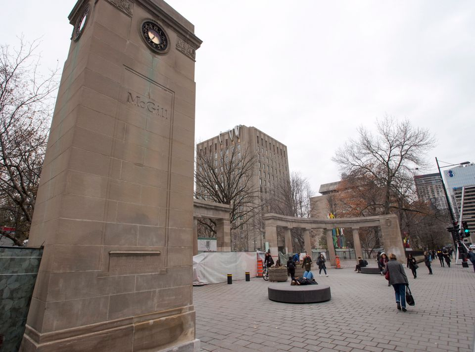 McGill University campus in 2017 in Montreal, Que. One student who hoped to attend this year said she...