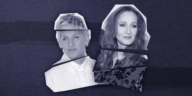 Ellen DeGeneres e J.K. Rowling são os estudos de caso mais recentes do branding de celebridade...