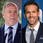 B.C. Premier Asks Ryan Reynolds To Call Him And Help Fight COVID-19
