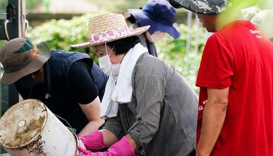 강원 철원 주민들이 수해 복구를 하다 깜짝 놀란 이유는 김정숙 여사 때문이다