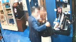 '성추행 혐의' 민주당 부산시의원의 CCTV 장면이