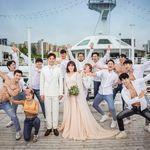 '헬스걸' 권미진이 임신 소식과 함께 공개한 웨딩화보