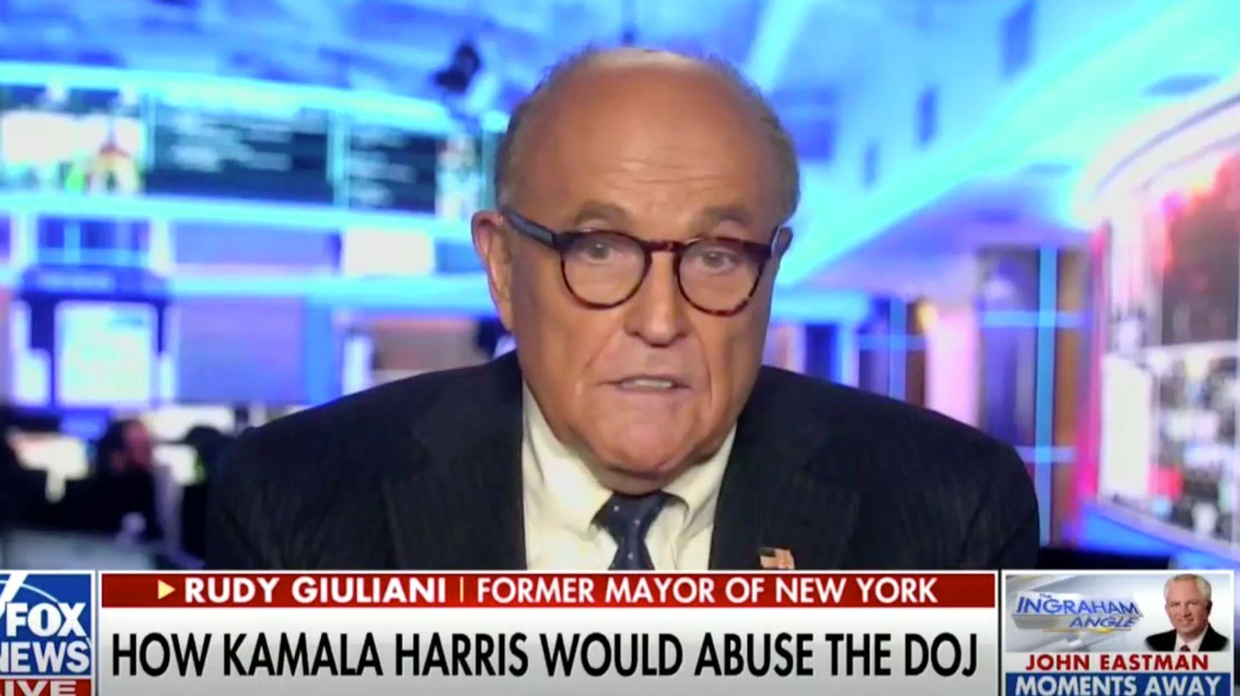 Rudy Giuliani: U.S. Would Become 'Banana Republic' If Biden's DOJ Prosecuted Trump