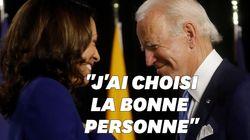Joe Biden et Kamala Harris plus complices que jamais pour