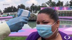 Lo que responde esta mujer en un control de temperatura por el coronavirus lleva casi dos millones de