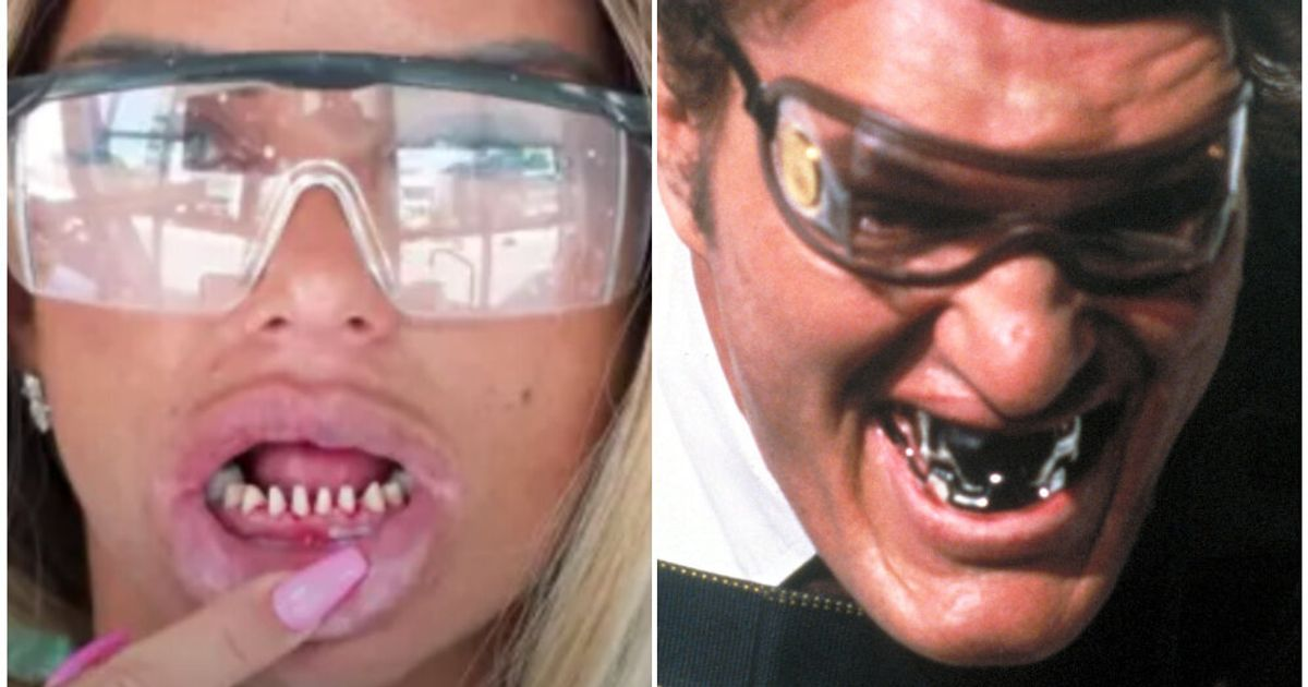 Katie Price Compares Herself To James Bond Villain Jaws As She ...