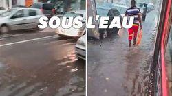 De violents orages touchent la Normandie et provoquent des