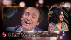 El fallo garrafal del 'Lazos de sangre' de Manolo Escobar del que avisó su hija: