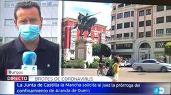 Críticas a 'Informativos Telecinco' por el error de este rótulo: