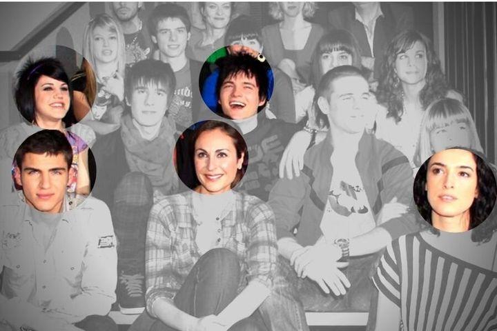 Cinco de los seis actores confirmados del regreso de 'Física o Química' (Atresmedia).