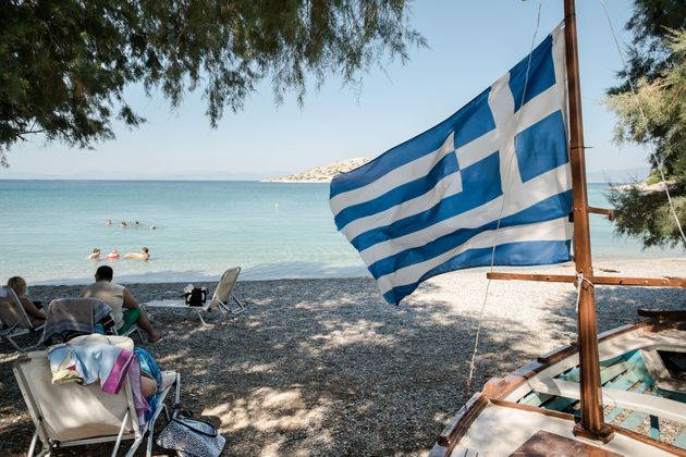 Παραλία στην Σαλαμίνα...