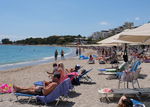Παραλία της Βουλιαγμένης...
