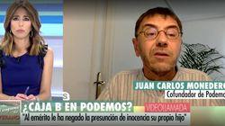 Monedero dice que la supuesta 'caja B' de Podemos es