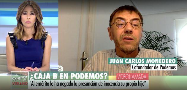 Juan Carlos Monedero en 'El Programa de AR'
