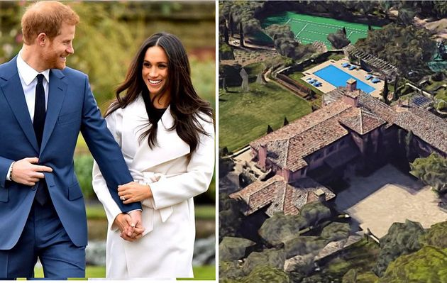 La nuova villa di Harry e Meghan è da sogno: 9 camere da letto, 16 bagni e due ettari di giardini