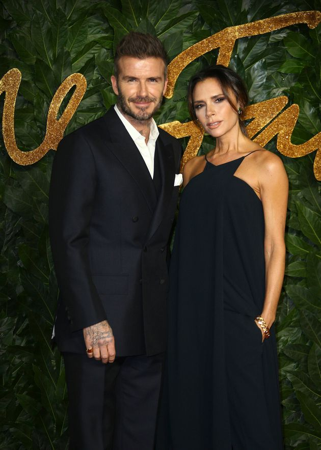 Victoria Beckham Cant Resist Poking Fun At Husband Davids Throwback Photo-Shoot On Instagram