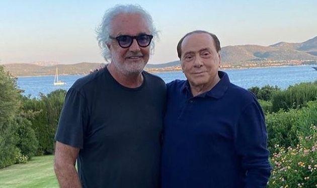 Flavio Briatore e Silvio Berlusconi insieme su Instagram (e il video fa il giro del web)