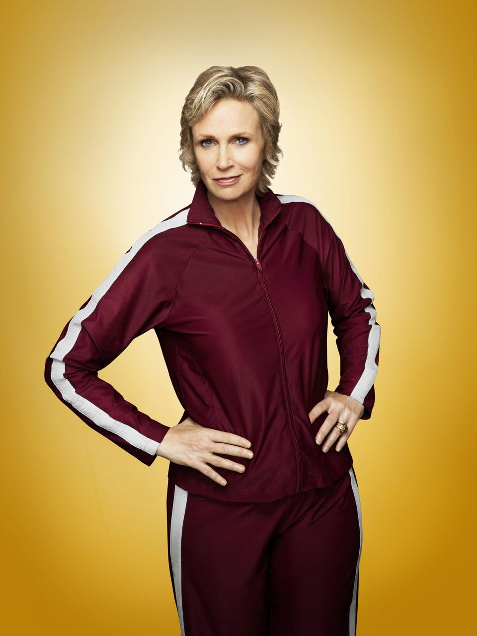 Jane Lynch as Sue Sylvester in