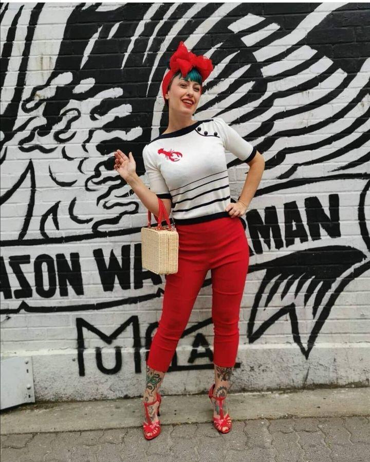 Karine Gauthier, propriétaire de la boutique Kitsch'n Swell à Montréal