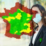 Plus de 30 départements dépassent le seuil de vigilance sur notre carte de France du