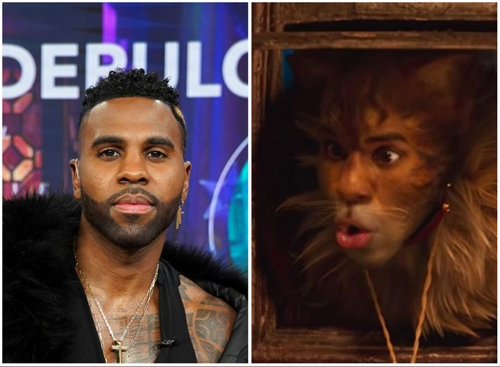 """Jason Derulo had very, very high hopes for """"Cats,"""" in which he made his on-screen debut as Rum Tum Tugger."""