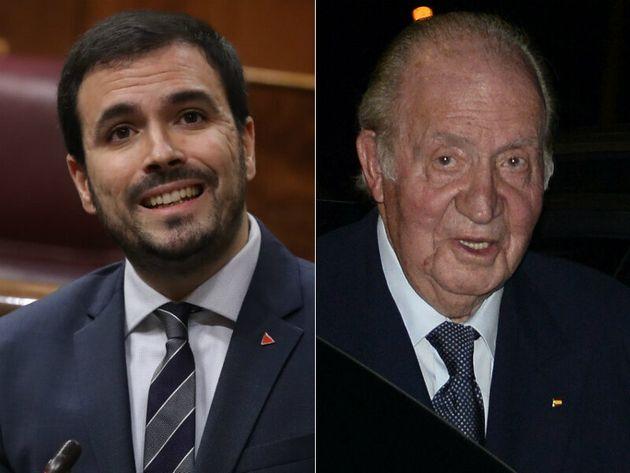 Alberto Garzón y Juan Carlos