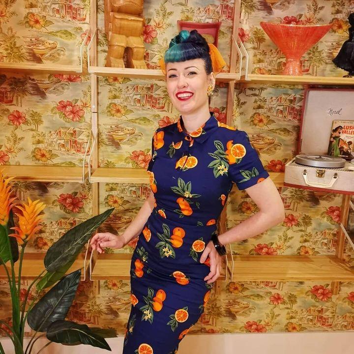 Karine Gauthier dans sa boutique du boulevard Saint-Laurent à Montréal.