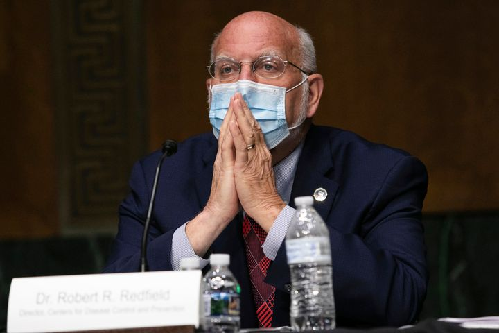 CDC Director Robert Redfield on Capitol Hill in July.