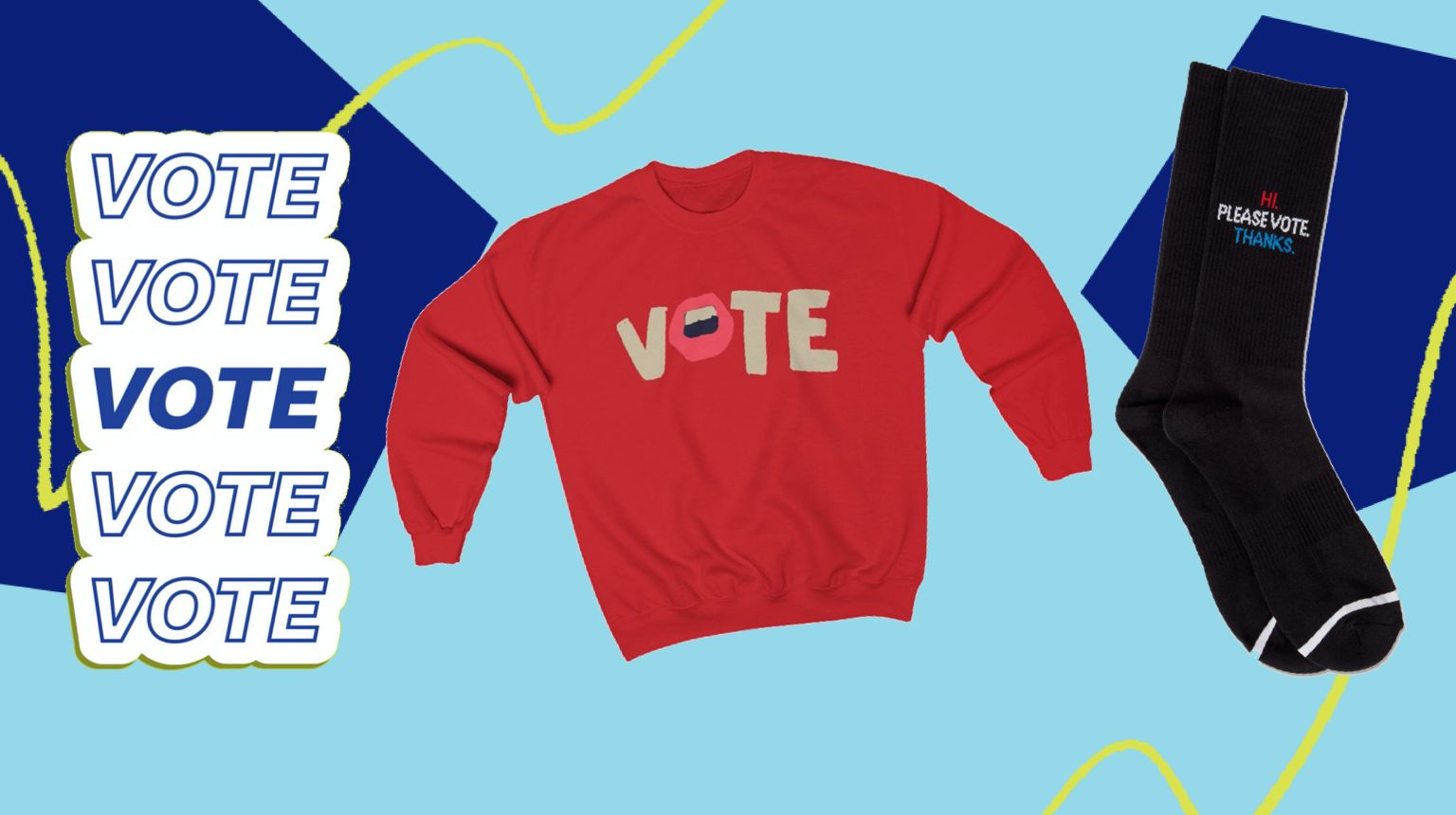 These Not-So-Subtle Products Will Remind Everyone To Vote In November