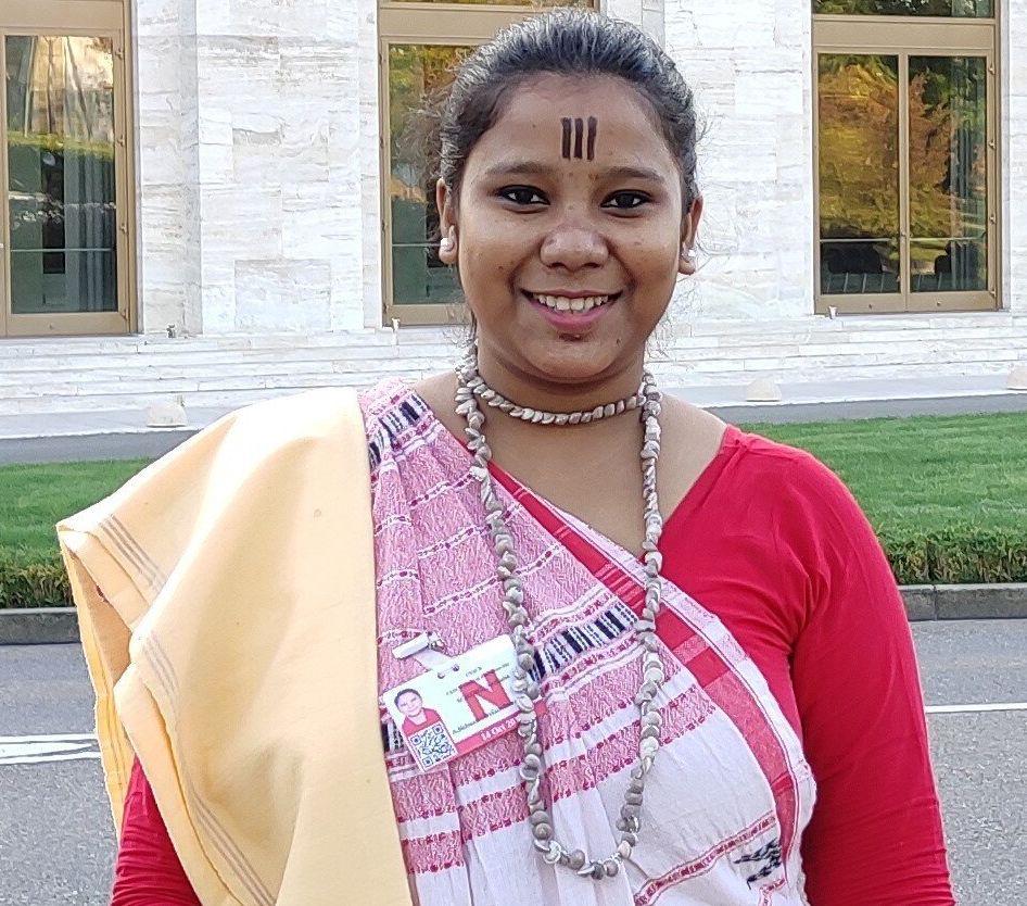 Odisha-based activist Archana Soreng in a file