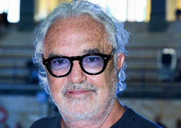 MILAN, ITALY - SEPTEMBER 17: Flavio Briatore attends the Benetton fashion show during the Milan Fashion...