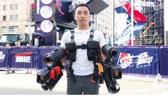 アイアンマン風の機械、猫用の酒、虫型ドローン……。中国の「メーカー・フェスティバル」にバーチャル参加してみた