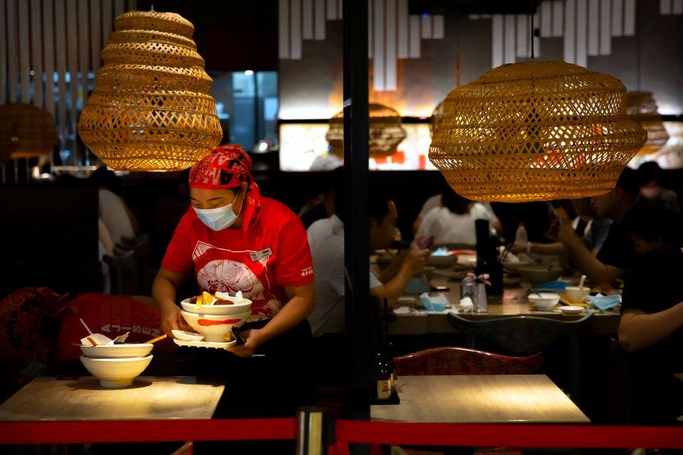 Εστιατόριο στο Πεκίνο της Κίνας.